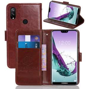 GUCOON Classic Wallet Case for Doogee N20 N10 S40 Y8c Y7 Cover PU Leather Vintage Flip Cases Fashion Phone Bag Shield(China)
