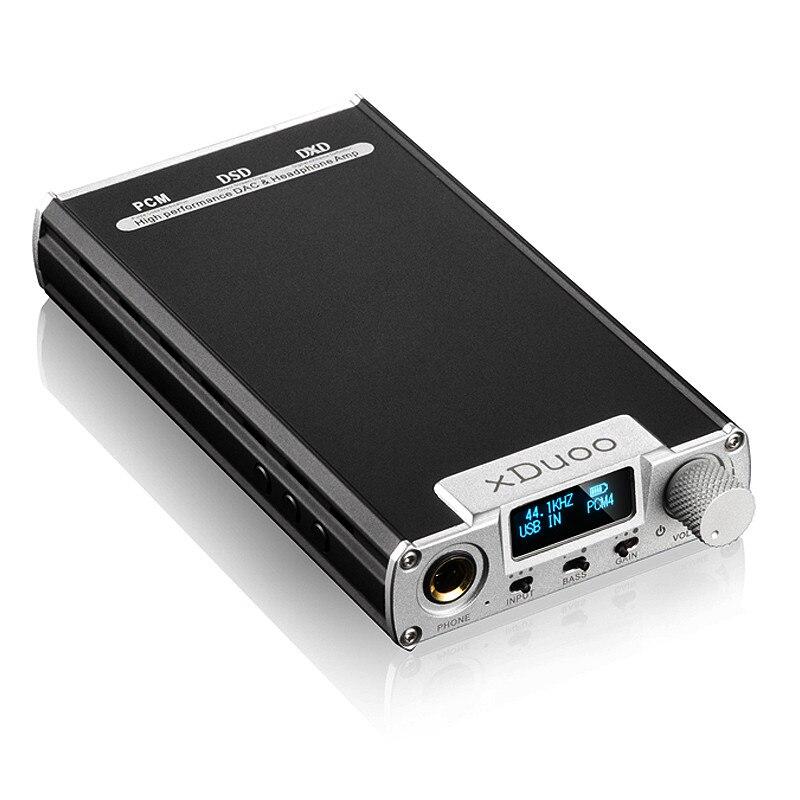 D'origine XDUOO XD 05 Portable Audio DAC amplificateur de casque HD ILED Affichage Professionnel PC USB Décodage Amplificateur