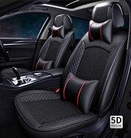 2018 заново! Полный комплект чехлы сидений автомобиля для Mitsubishi Pajero Sport 5 мест 2017 2008 Модные дышащие чехлы сидений, Бесплатная доставка