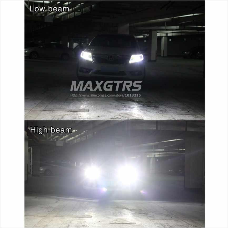 2x H4 9003 HB2 9004 9007 HB1 HB5 9008 H13 8000lm For Lumileds Chips Car LED Headlight Kit Hi/Lo Double Beam 6500K Light Bulbs