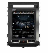 """Otojeta Вертикальная 12.1 """"4 ядра Android 6.0 2 Гб оперативной памяти Автомобильный DVD GPS Радио для Toyota Landcruiser LC200 Мультимедиа стерео головного устройства"""