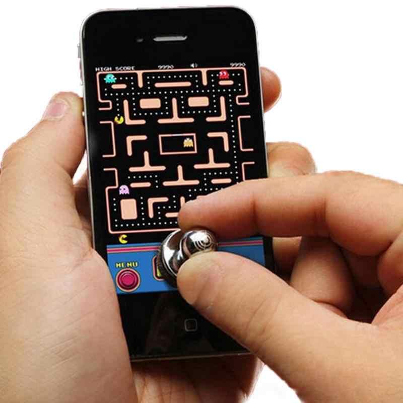 Новая горячая 2 шт маленький размер игра с палочками джойстик для игр для iPhone для сенсорного экрана мобильного телефона мини-переключатель