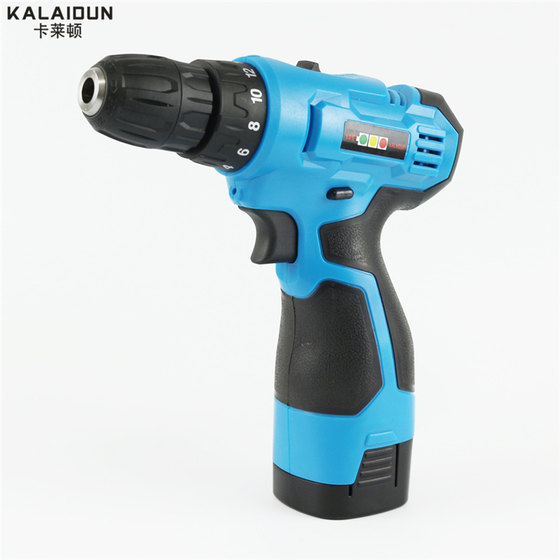 ФОТО KALAIDUN 21V Mobile Electric Drill Power Tools Electric Screwdriver Lithium Battery Cordless Drill Mini Drill Hand Tools