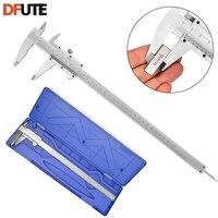 DFUTE 0-300mm 4 inch kieszonkowy mini gem zacisk noniusz noniuszem zacisk 300mm micometer pomiar grubości narzędzie