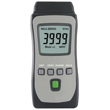 Hot Sale High Sensitive Portable Solar Radiation Power Meter Range 4000W/m2  634Btu/(ft2*h) High Precision Solar Power Tester
