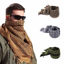 Outdoor Hiking Scarves Military Arab Tactical Desert Scarf Men Women Winter Windproof Thickened Neck Wrap Hunting