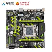 HUANAN Чжи X79 ZD3 материнская плата для Intel LGA 2011 E5 1650V2 2650V2 2680V2 2678V3 DDR3 1333/1600/1866 МГц 64 Гб M.2 NVME MATX