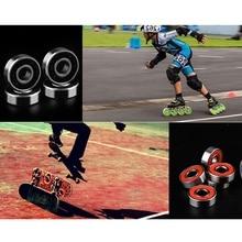 Скейтерские подшипники для скейта, катания на коньках, скейтборд подшипник для Лонгборда, прочные толстые подшипники для катания на коньках, роликовые скейты, обувь для скутера