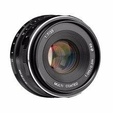 Meike MK-FX-35-1.7 35mm f 1.7 Large Aperture Manual Focus lens APS-C For Fujifilm Mirrorless cameras XT1 X-E1 etc