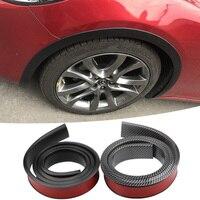 car sticker 3.5 / 4.5 / 5.5cm * 150cm Rubber Styling Mouldings Car Wheel Arch Protection Moldings Anti-collision Mudguard Auto Wheel Sticker (2)