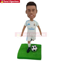 Soccer Bobble Head Personalized Soccer Cake Topper Soccer Personalized Gift Soccer Boyfriend Gift Father's Day Gift Soccer Birth