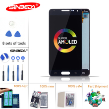 4.7Sinbeda Super AMOLED LCDs For Samsung Alpha LCD Touch Screen Digitizer Assembly for Note 4 Mini G850 G850F G850M G850K