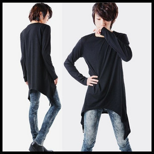 2016 New Arrival O neck Jersey Streetwear Full Solid T font b shirts b font Hip