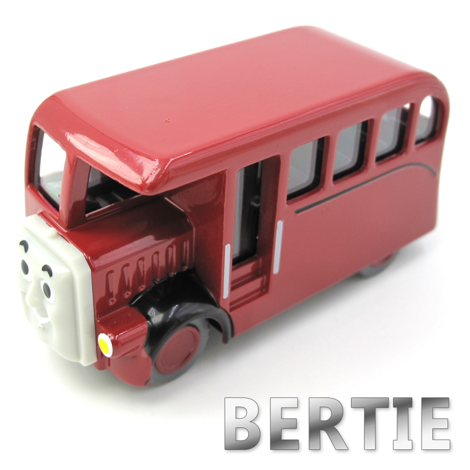 Diecasts Vehicles Thomas T011D BERTIE Thomas And Friends Magnetic Tomas Truck Car Locomotive Engine Railway Train Toys for Boys
