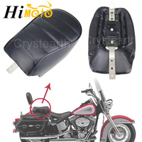For Harley Sportster Iron 883 XL883N 2014 2017 2015 2016 Black Motorcycle Passenger Rear Seat Cafe Racer Pillion Seat Cushion
