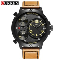 New CURREN Men Watches Luxury Casual Men Watches Men Analog Military Sports Watch Quartz Male Wristwatches