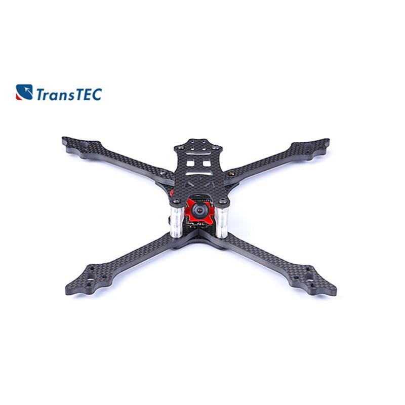 TransTEC LASER DB5 218mm empattement 68g 5mm 3 K plein carbone avec Fiber Semi-Kevlar ESC 30A 4in1 batterie 4 S FPV Drone cadre Kit