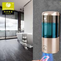 Boîte de shampooing de distributeur de récipient de savon liquide de goutte de Lotion de jet de mousse de bâti de mur de poinçon libre Auto-Induction d'hôtel