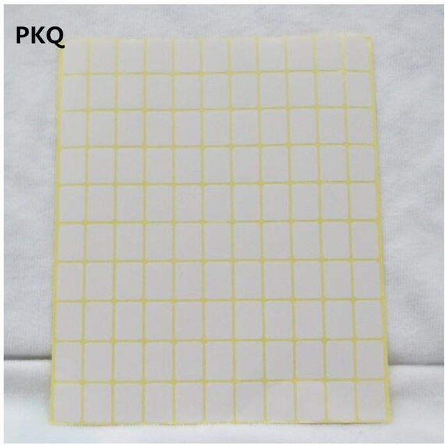 9*16mm/25x50mm/34x67mm blank white sticker label small white paper sticker white writing paper label sticker Stationery Label