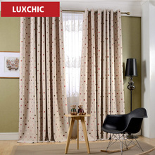 Rustic Floral Herb Printed Linen Curtains for Living Room Bedroom Kitchen Elegant Window Curtains Drapes Fabric