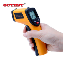 On sale Digital ir infrared thermometer Non-contact laser infrared thermometer gun point -50~530C(-58~986F) GM530 New arrival
