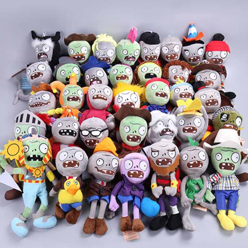 <font><b>23</b></font> Styles Plants vs Zombies Plush Toys 30cm Plants vs Zombies Soft Stuffed Plush Toys Doll Baby Toy for Kids Gifts Party Toys image