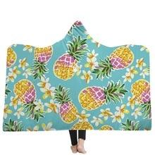 Флисовая микрофибра пледы одеяло богемное с капюшоном одеяло для взрослых Мандала зимний лежак пледы мягкое теплое надеваемое покрывало