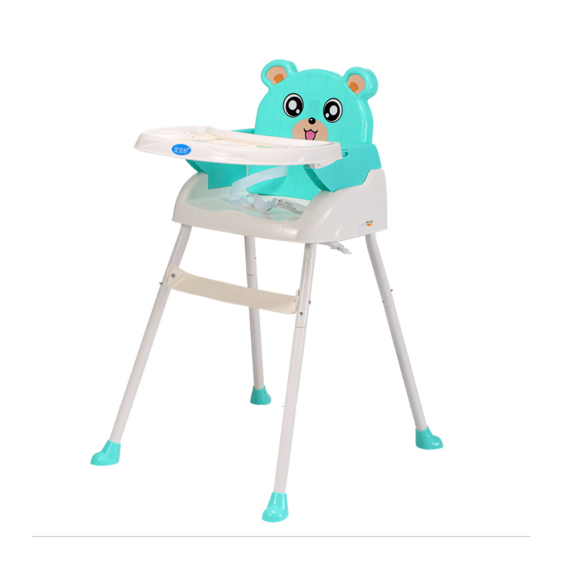 Baby Chair Portable Infant Cartoon Animal Seat Folding Adjustable Kids Seat Children High Seat Baby Feeding Multifunction Chairs baby chair portable adjustable infant seat portable children high seat baby feeding table multifunction chairs