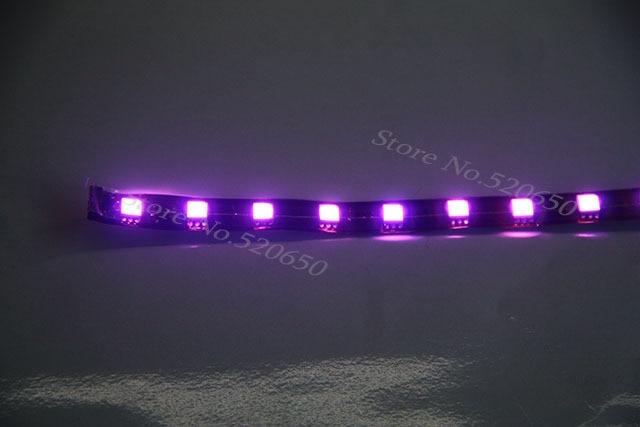 Short mini 12v waterproof purple motorcyclecarverhicle light led short mini 12v waterproof purple motorcyclecarverhicle light led strip black flexible pcb aloadofball Images