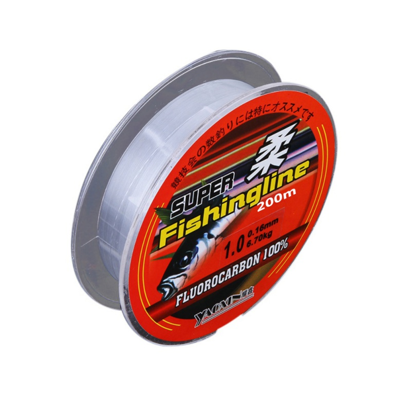 Fishing Line High Elastic Rubber Non Slip Super Strong Tippet Wire 50//100//200m