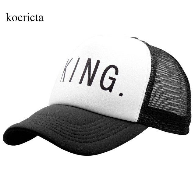 Aliexpress.com: Comprar Gorra de camionero King Queen para hombres y ...