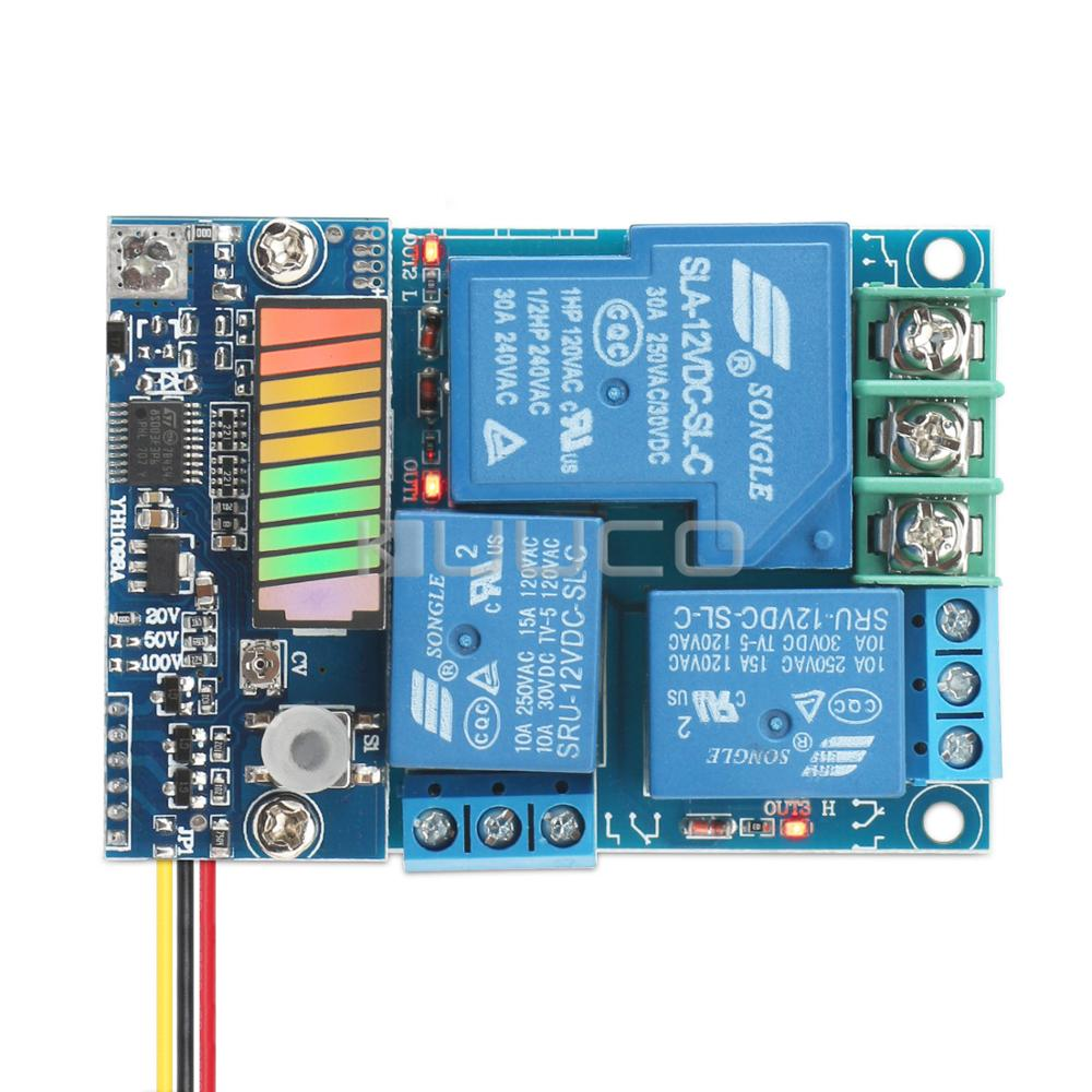 intelligent controller DC 10~90V Charge Controller DC12V 24V 48V Storage Lithium Battery Charger Control Switch Protection Board выпрямитель для волос imetec 11249