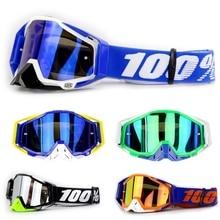 Check Price 100% brand Motocross Goggles Glasses Motorcycle Oculos 100 Percent ATV Lunette Moto Gafas Sunglasses