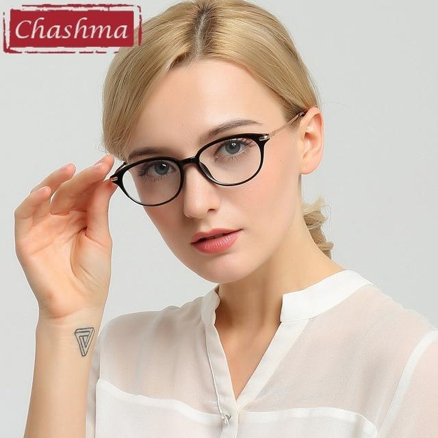 a43cdf706e Chashma Brand Women Eyewear Cat Eyes Glasses Frames Fashion Stylish Fresh Optical  Eyeglasses Female