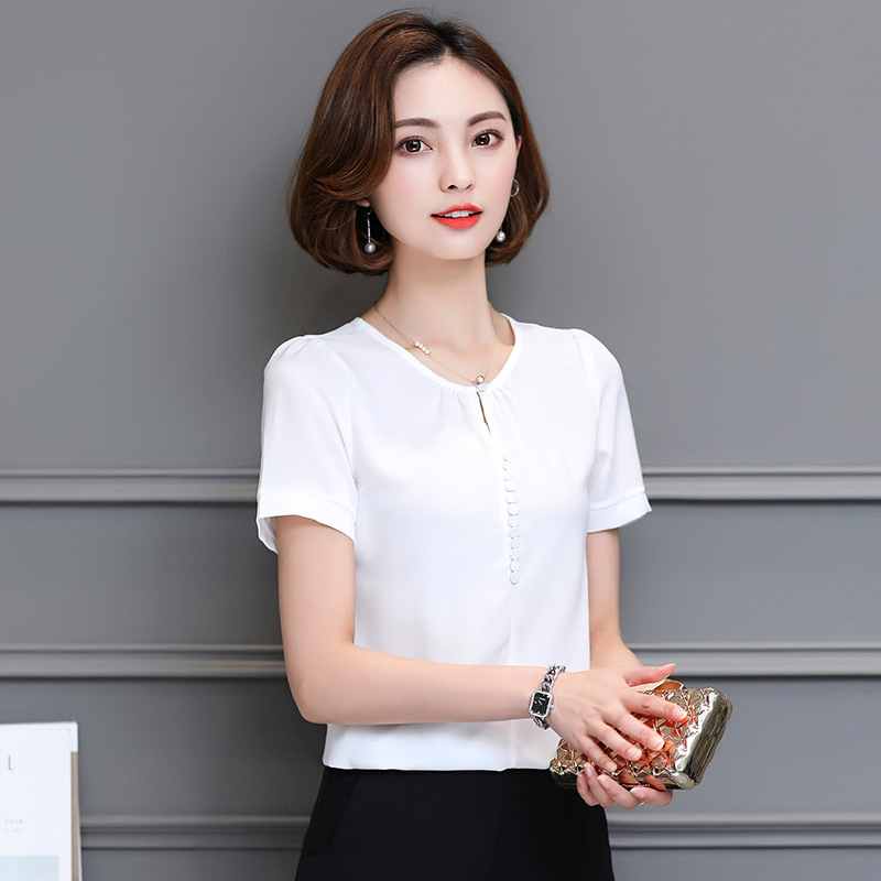 Competent 2019 Fashion Women Blouse Casual Bow Tie School Chiffon Blouse Collar Top Female Shirt Womens Tops Ladies Clothing Women's Clothing