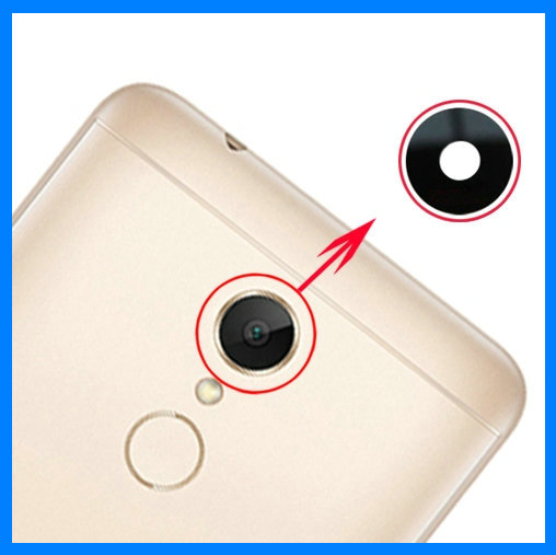 2pcs/lot Coopart New Back Rear Camera Lens Glass For Xiaomi Redmi Note 5 5A / Redmi 5 & 5 Plus 5Plus With Sticker Top Quality
