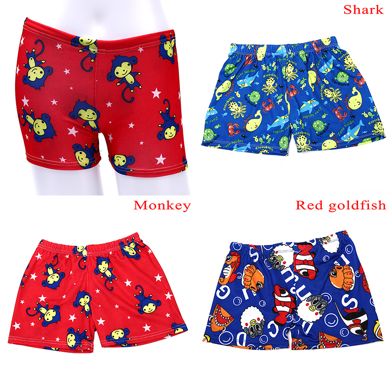 Corgi Cute Playing Pattern Kids Boys Fast Drying Beach Swim Trunks Pants