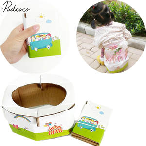 Potties Toilet Travel Portable Child Diapering 50kg Emergency
