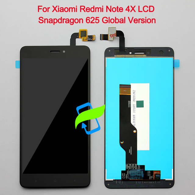 "5.5"" For Xiaomi Redmi Note 4X LCD Display Touch Screen Digitizer with Frame Snapdragon 625 Global Version For Xiaomi Note 4X LCD"