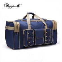 Doppulle бренд 2017 мужчин Дорожная сумка большой Ёмкость женские багаж Duffle Сумки случайный плечо лоигп сумка мала Viagem
