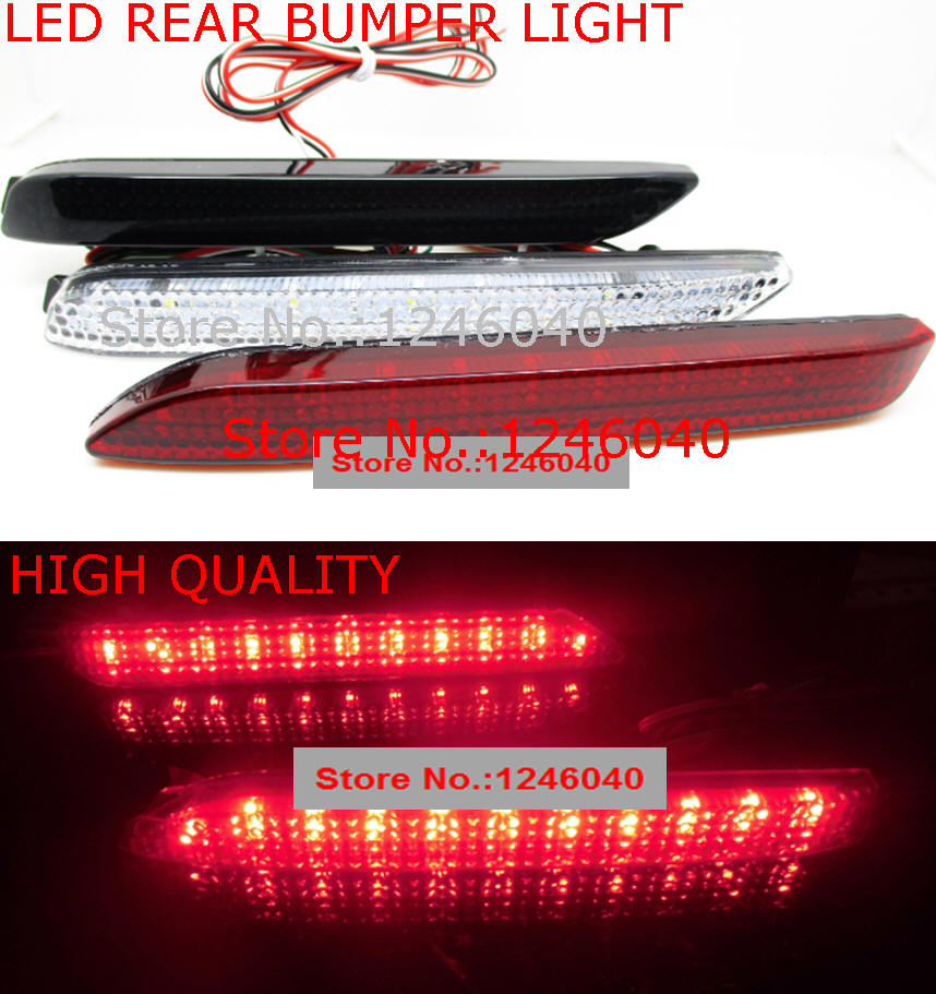 LED Rear bumper reflector light tail brake stop lamp for Toyota Camry Reiz Venza Avalon Sienna Matrix Lexus IS F RX300 GX470 secadora de cabello nova