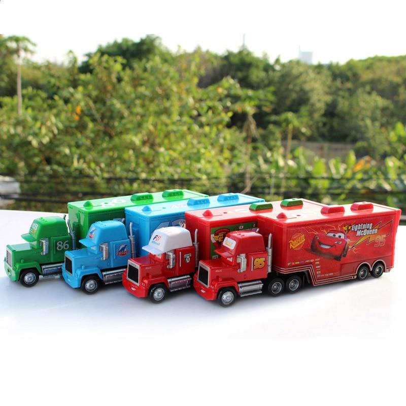 Disney Pixar Cars 2 Toys 2pcs Lightning Mcqueen City Construction Mack Truck The King 1 55 Diecast Metal Modle Figures For Kids Kid Shop Global Kids Baby Shop Online
