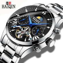 2018 Business Watch Men Automatic Mechanical Wrist Watches Clock Man Tourbillon Waterproof Mens Watches Relogio Masculino Saat pagani design luxury brand watches mens waterproof business automatic mechanical wrist watch clock men relogio masculino saat