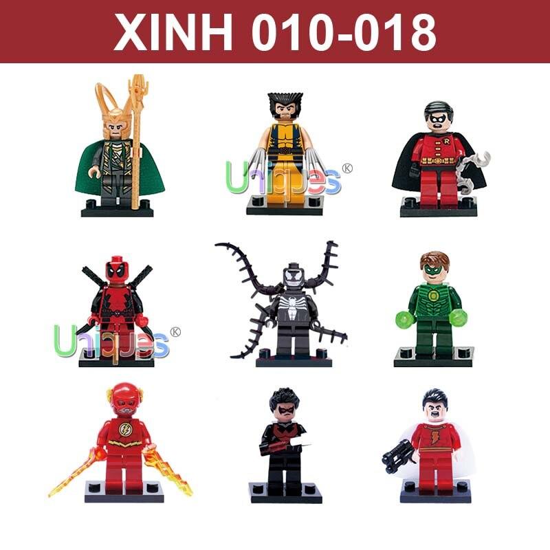 35pcs toy figurines marvel captain america iron man thanos deadpool hulk mini