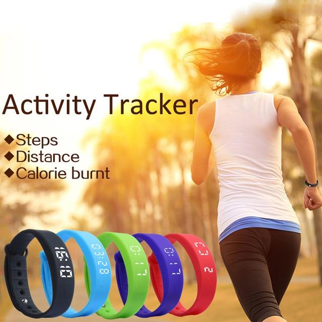 HOT SALE 3D LED Watches Women Men Calorie Pedometer Sport smart Bracelet Wrist Watches Saat Smartwatch Clock Saat Feida