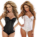 S-6XL Plus Size Sexy Women Waist Corsets and Bustiers Corset Overbust Push Up Bodyshaper