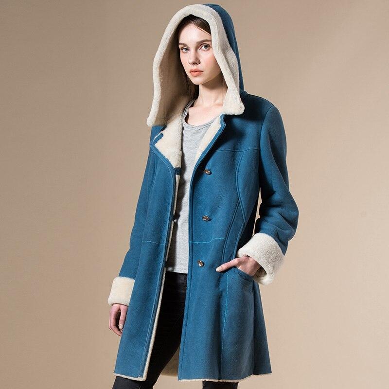 Popular Hooded Shearling Coats-Buy Cheap Hooded Shearling Coats