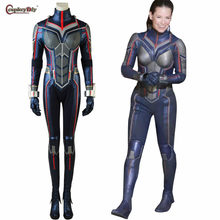 Ant-Man and the Wasp Trailer 2 Wasp Hope Van Dyne Cosplay Women Girls Fancy Dress Costume Jumpsuit Shoes Gloves Halloween Outfit(China)