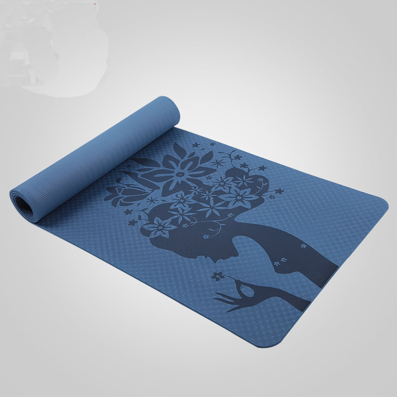 Yoga Eco Friendly Non Slip Yoga Mat, Body Alignment System