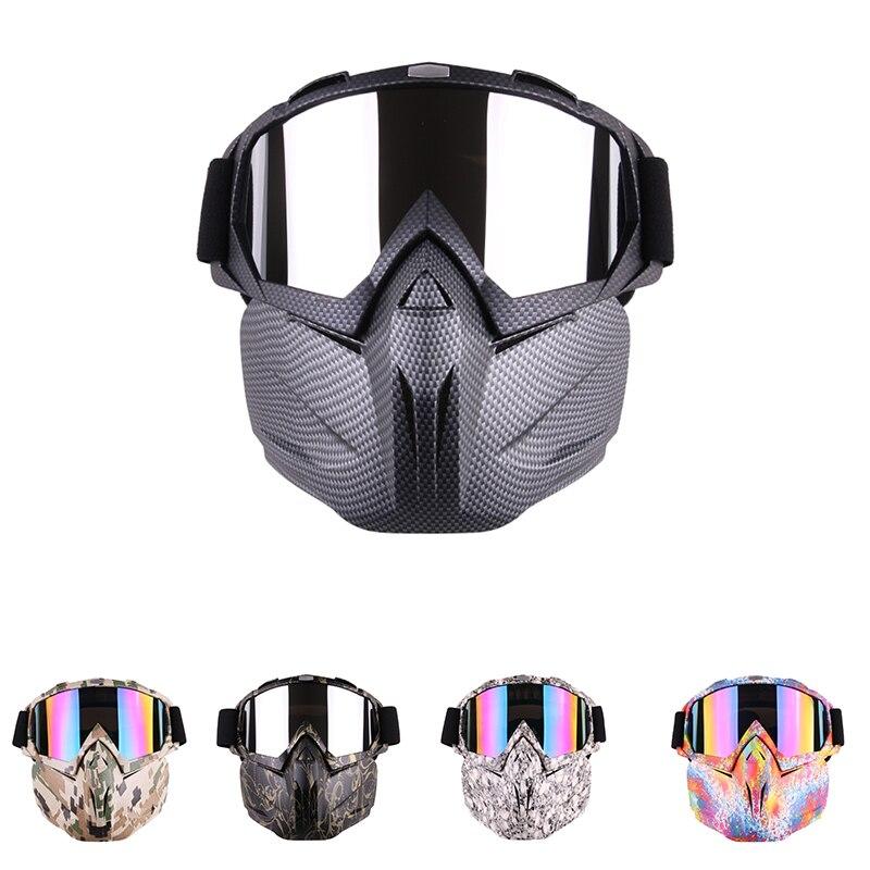 2019 Mode Fdbro Radfahren Voll Maske Motorrad Sicherheit Brillen Brille Sonnenbrille Snowboard Maske Radfahren Uv Winddicht Skate Ski Gläser Maske FüR Schnellen Versand